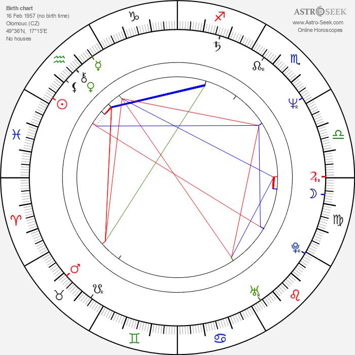 Alice Šnirychová-Dvořáková - Astrology Natal Birth Chart