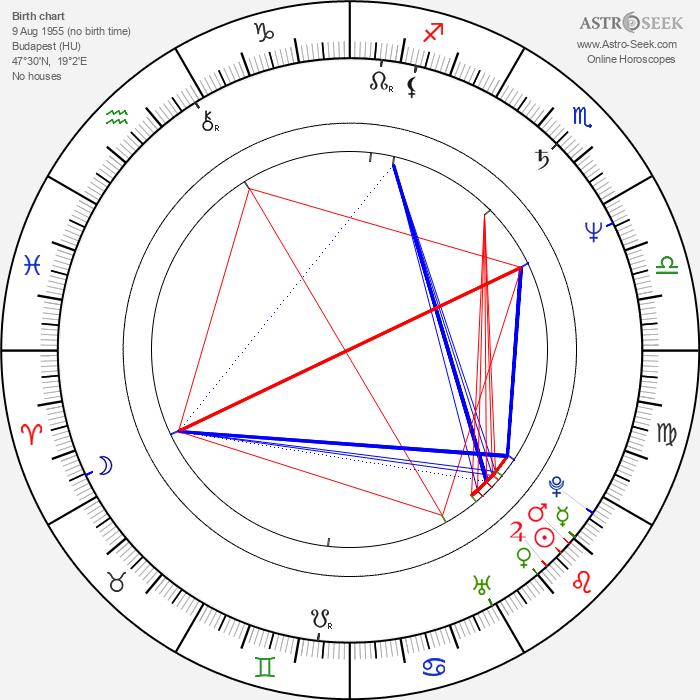 András Laár - Astrology Natal Birth Chart
