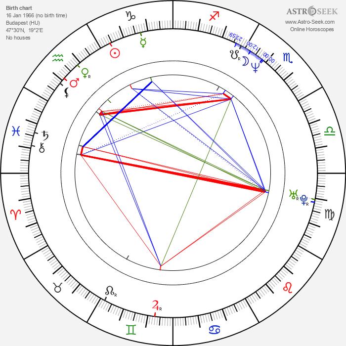 Barbara Hegyi - Astrology Natal Birth Chart