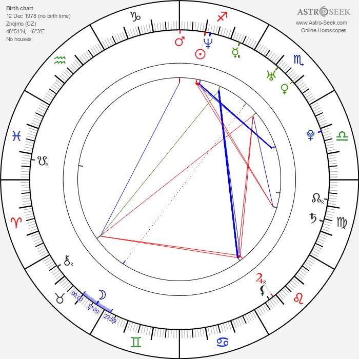 Daniela Písařovicová - Astrology Natal Birth Chart