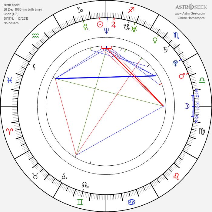 Diana Veselá - Astrology Natal Birth Chart