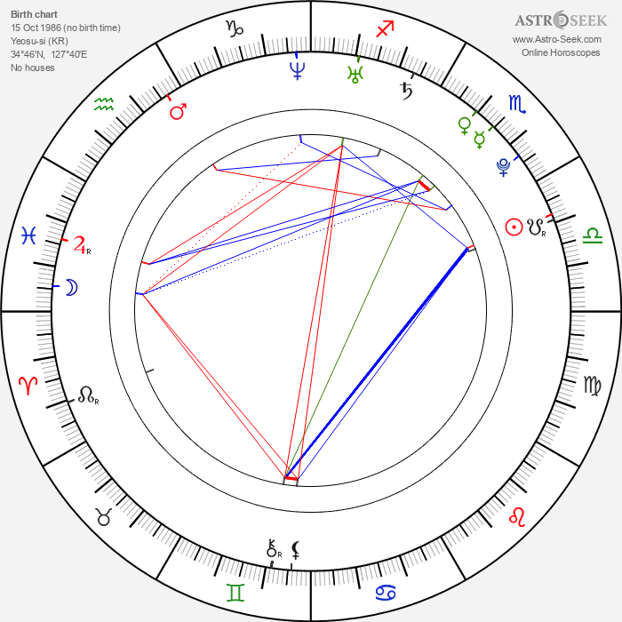 Dong-hae Lee - Astrology Natal Birth Chart