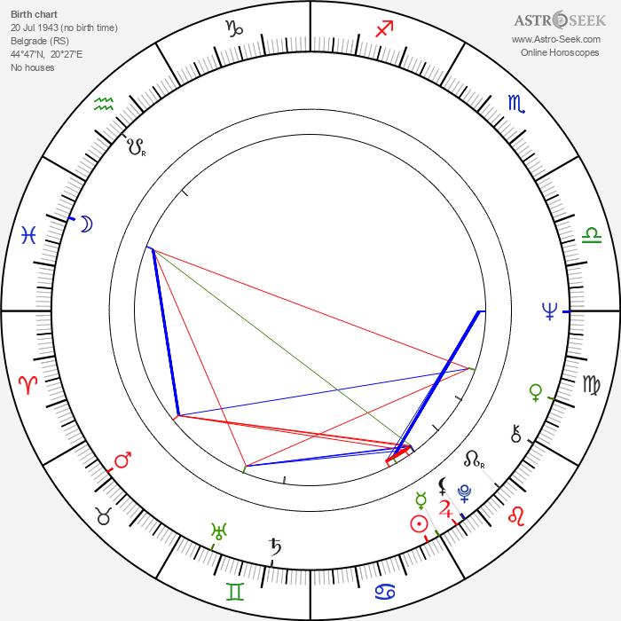 Dragan Nikolić - Astrology Natal Birth Chart