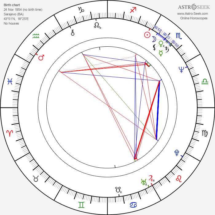 Emir Kusturica - Astrology Natal Birth Chart