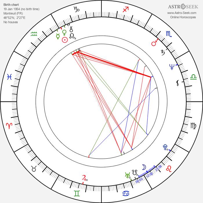 Evelyne Gebhardt - Astrology Natal Birth Chart