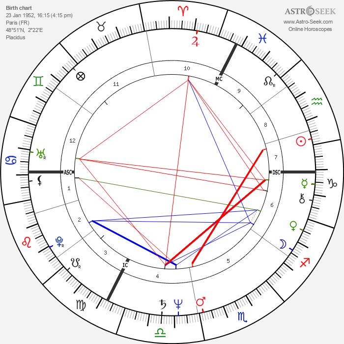 Françoise Vergès - Astrology Natal Birth Chart