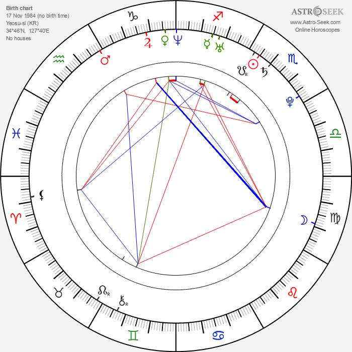 Han-byeol Park - Astrology Natal Birth Chart