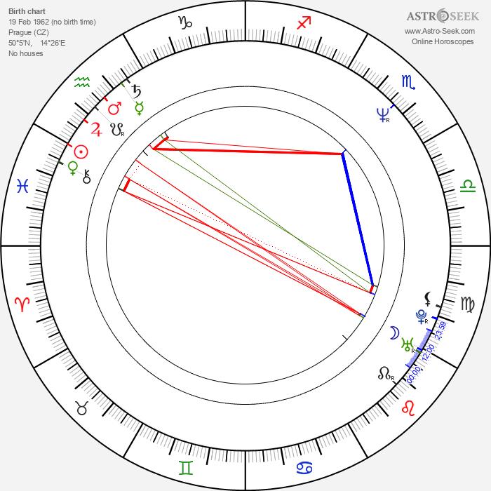Hana Mandlíková - Astrology Natal Birth Chart