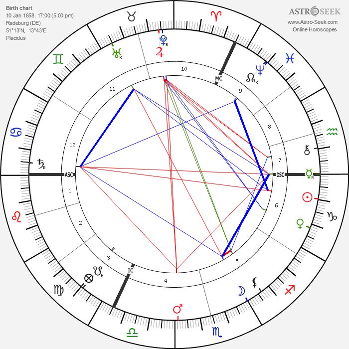 Heinrich Zille - Astrology Natal Birth Chart