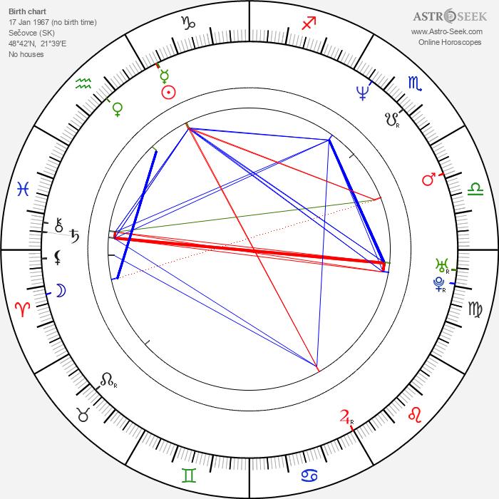 Ingrid Timková - Astrology Natal Birth Chart