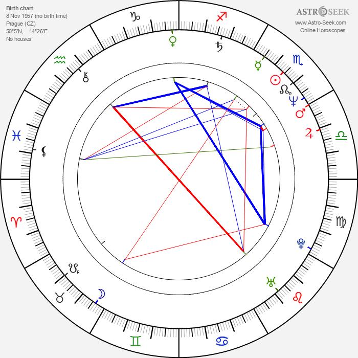 Irena Budweiserová - Astrology Natal Birth Chart