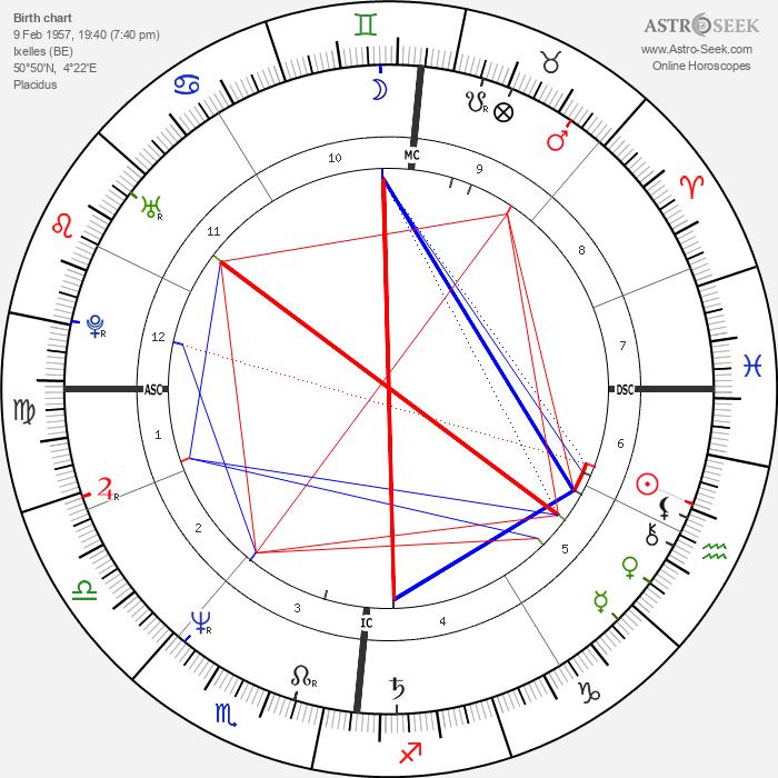Jaco van Dormael - Astrology Natal Birth Chart