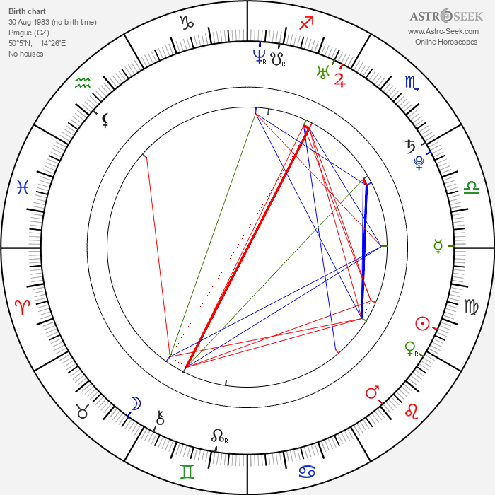 Jakub Prachař - Astrology Natal Birth Chart