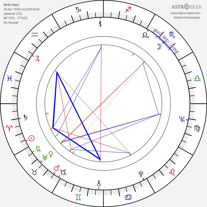 Jan Rokyta - Astrology Natal Birth Chart