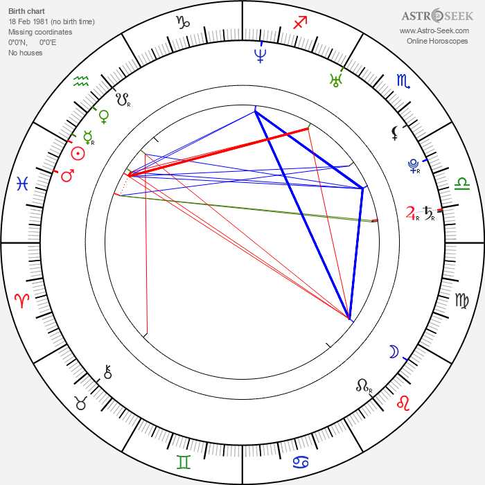 Jasmine Fiore - Astrology Natal Birth Chart