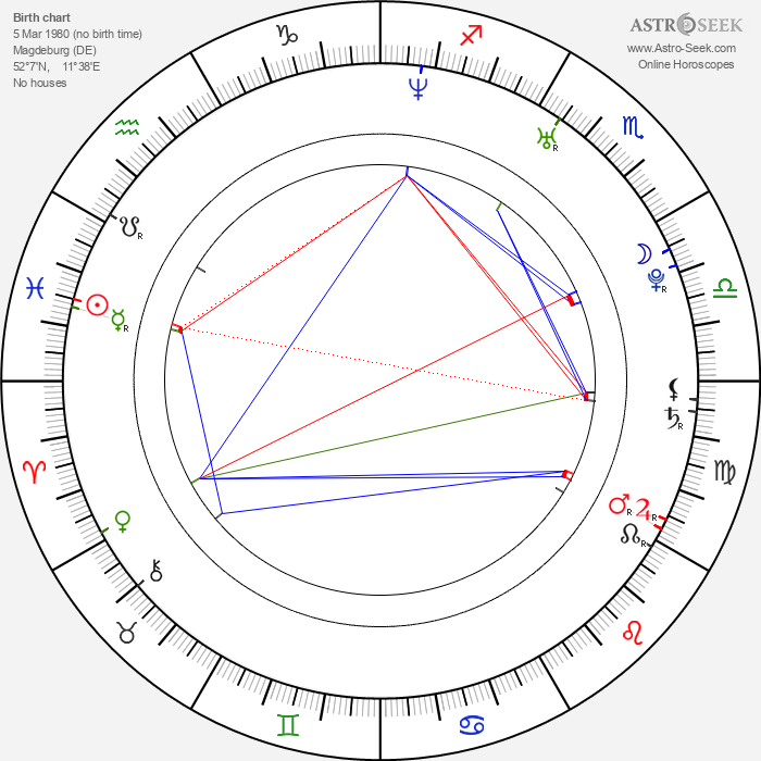 Jessica Boehrs - Astrology Natal Birth Chart