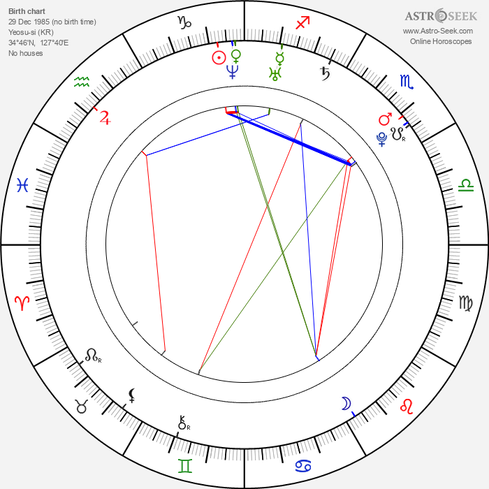 Ji-hye Wang - Astrology Natal Birth Chart