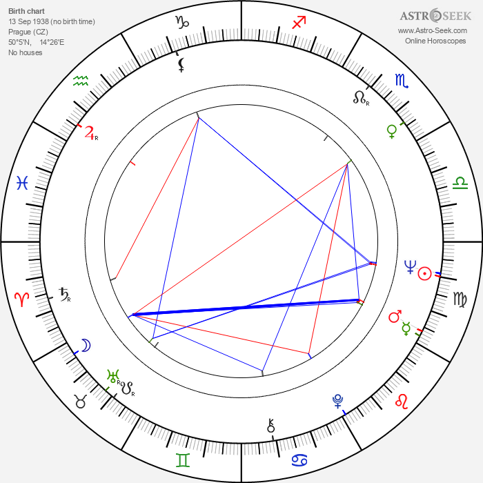 Jindřich Sejk - Astrology Natal Birth Chart