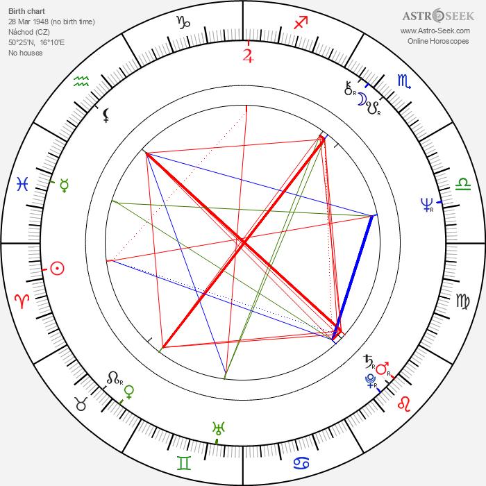Jiří Schmiedt - Astrology Natal Birth Chart