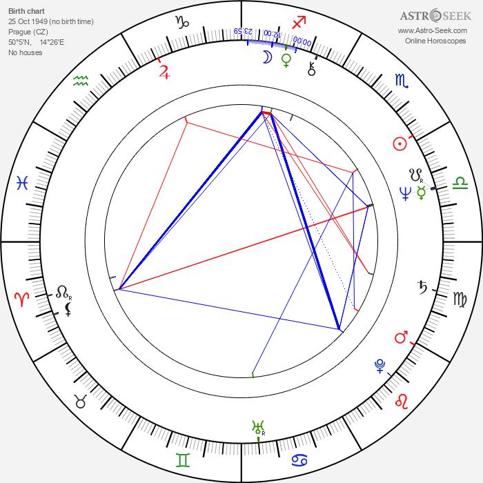 Jiří Schmitzer - Astrology Natal Birth Chart