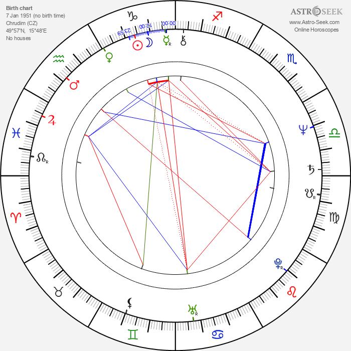 Jiří Vondráček - Astrology Natal Birth Chart