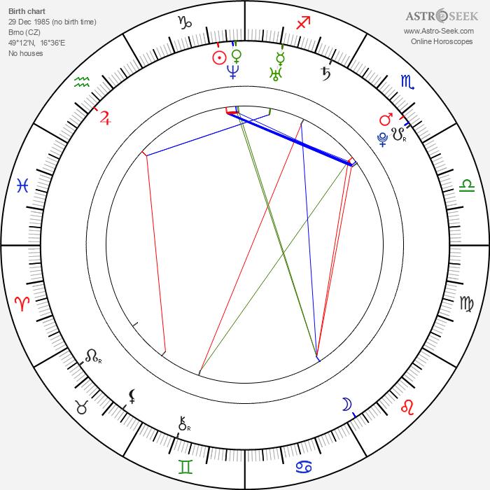 Klára Brtníková-Vojtková - Astrology Natal Birth Chart