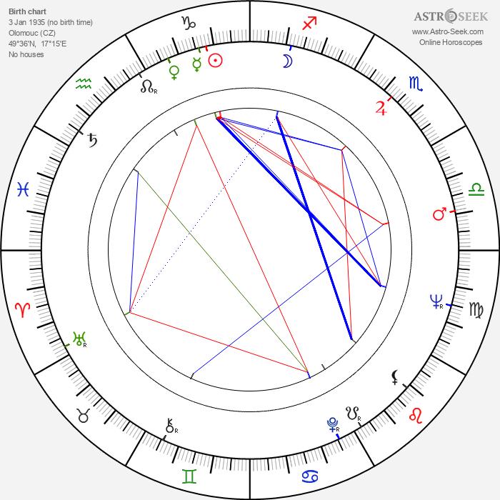 Ladislav Knížátko - Astrology Natal Birth Chart