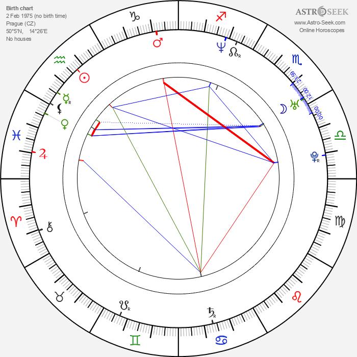 Lela Geislerová - Astrology Natal Birth Chart