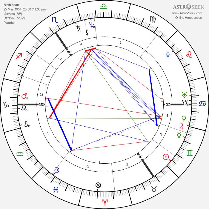 Luc Sante - Astrology Natal Birth Chart