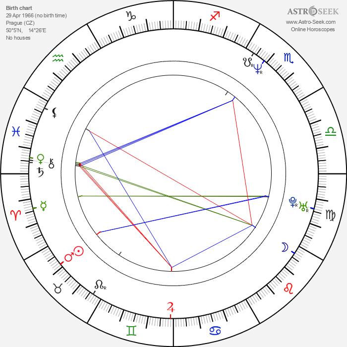 Luděk Dřízhal - Astrology Natal Birth Chart
