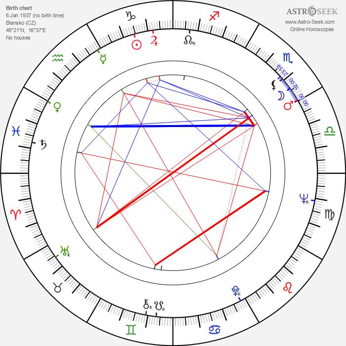 Ludvík Daněk - Astrology Natal Birth Chart