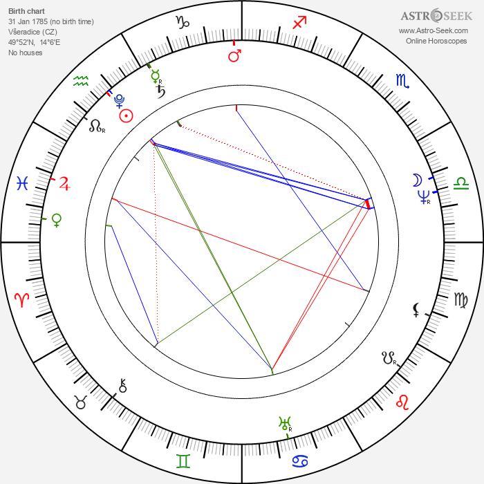 Magdalena Dobromila Rettigová - Astrology Natal Birth Chart