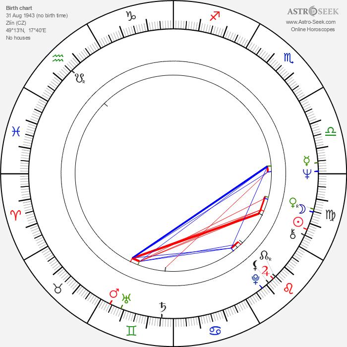 Marcela Hynčicová - Astrology Natal Birth Chart