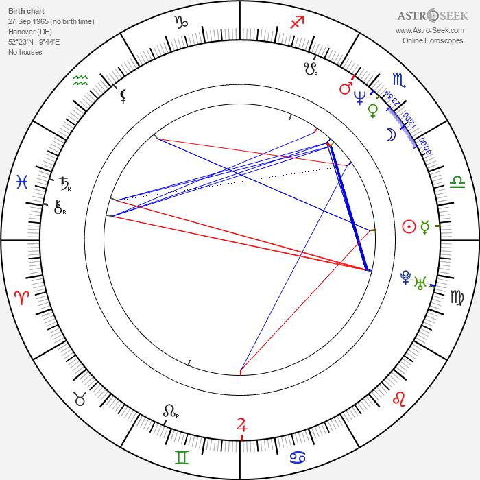 Maria Schrader - Astrology Natal Birth Chart