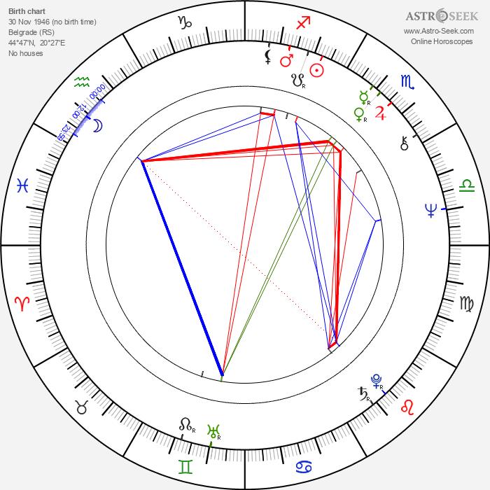 Marina Abramović - Astrology Natal Birth Chart