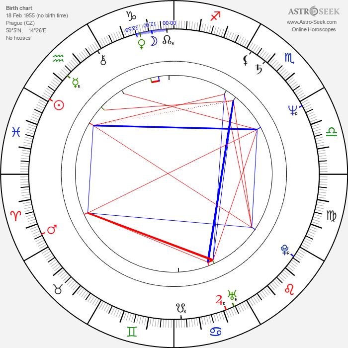 Martin Hanzlíček - Astrology Natal Birth Chart
