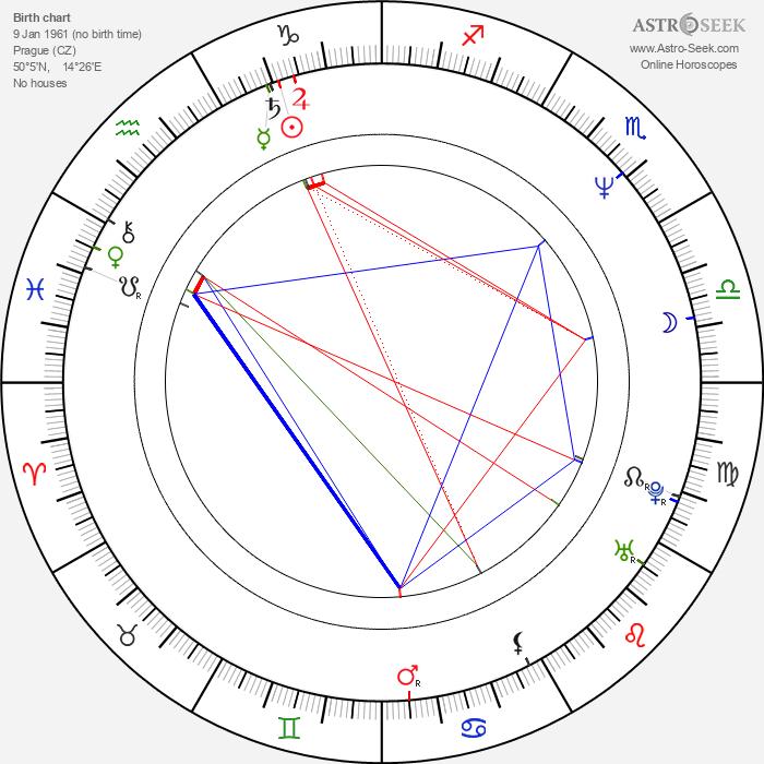 Martina Gasparovičová-Bezoušková - Astrology Natal Birth Chart