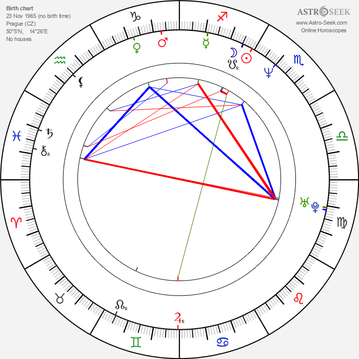 Michal Dvořák - Astrology Natal Birth Chart