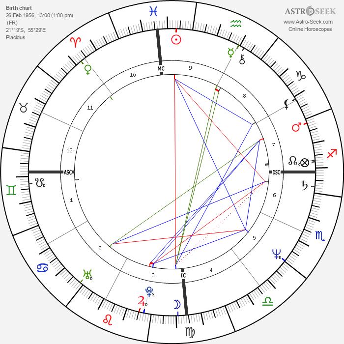 Michel Houellebecq - Astrology Natal Birth Chart