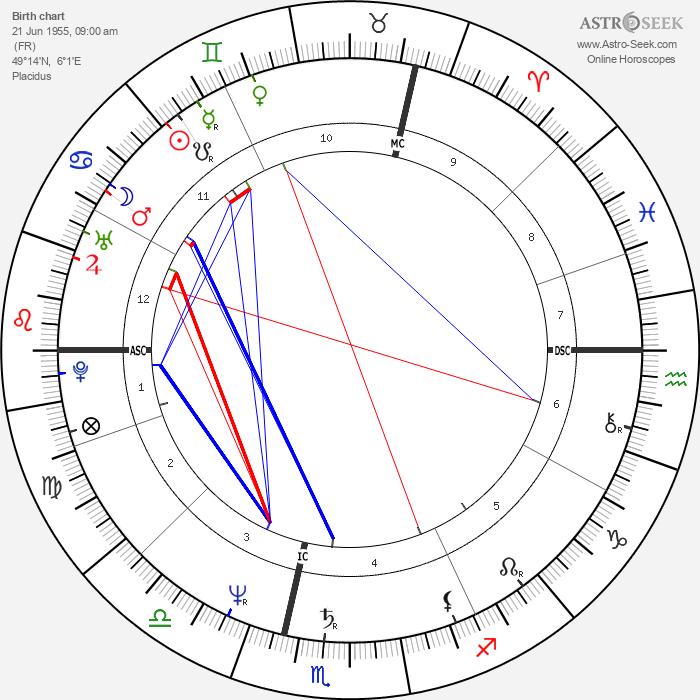 Michel Platini - Astrology Natal Birth Chart