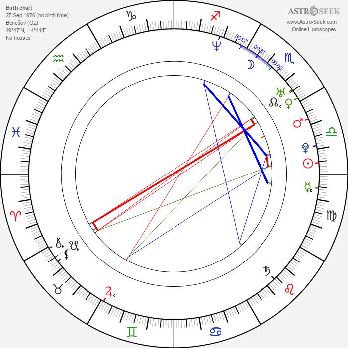 Monika Absolonová - Astrology Natal Birth Chart