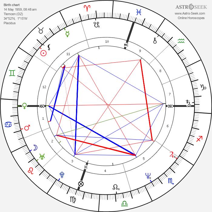Patrick Bruel - Astrology Natal Birth Chart