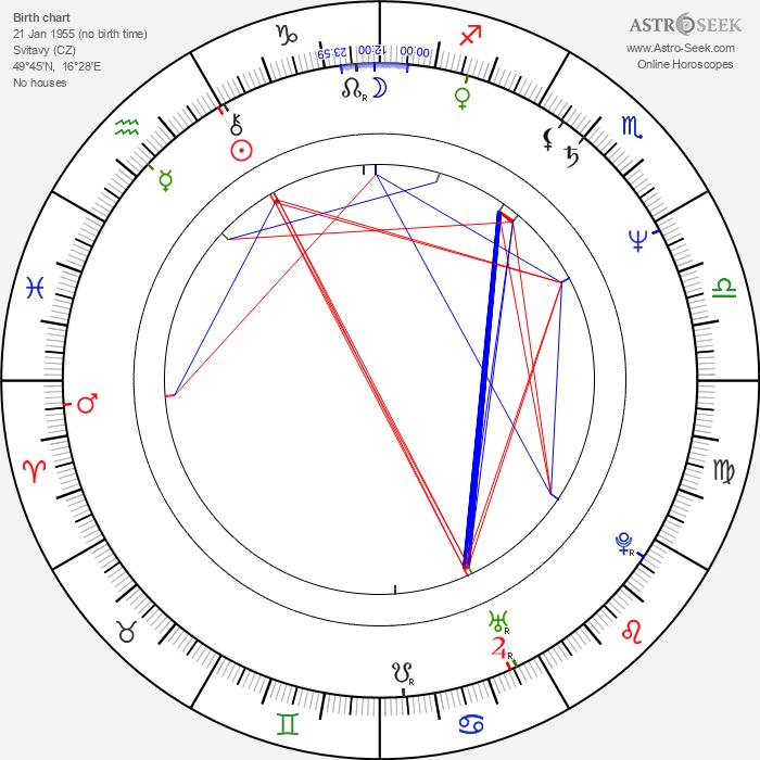 Pavel Marek - Astrology Natal Birth Chart