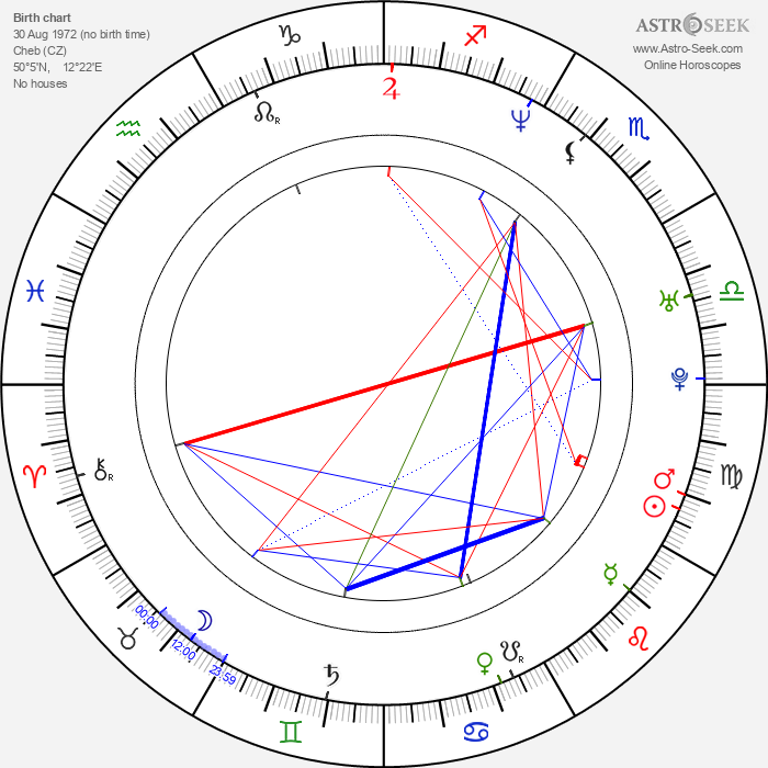 Pavel Nedvěd - Astrology Natal Birth Chart