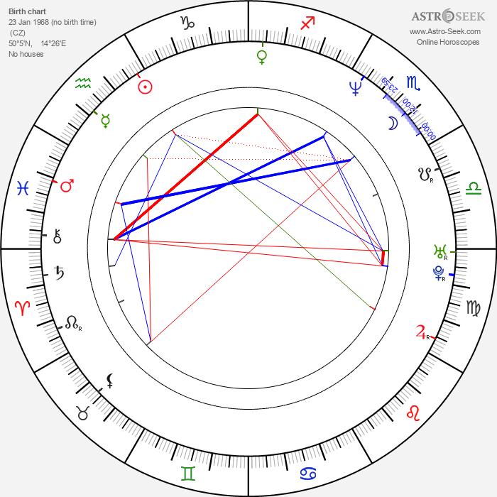 Petr Korda - Astrology Natal Birth Chart