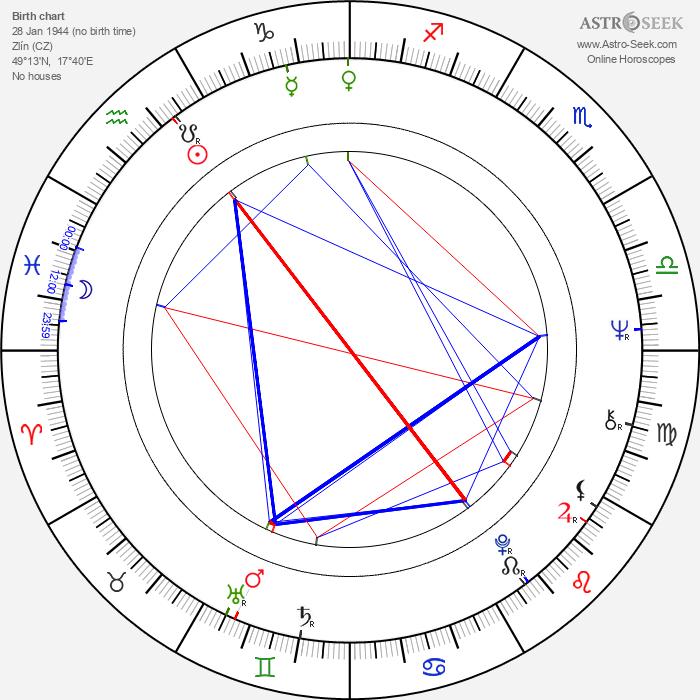 Petr Švéda - Astrology Natal Birth Chart