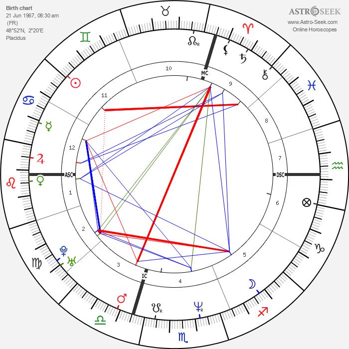 Pierre Omidyar - Astrology Natal Birth Chart