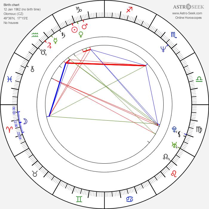 Radek Drulák - Astrology Natal Birth Chart