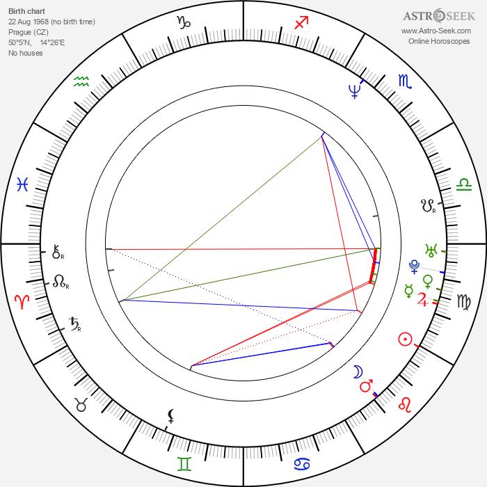 Radek Holub - Astrology Natal Birth Chart