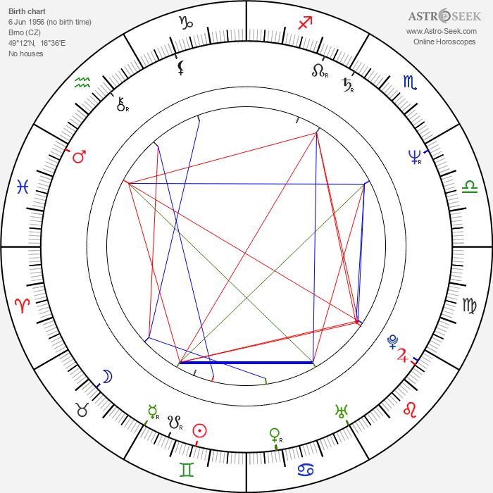 Radko Martínek - Astrology Natal Birth Chart
